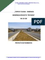 Informe Pavimentos PIV Reynoso