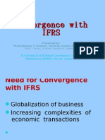 Convergence With IFRS