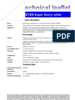 Fax TM Super Slurry White