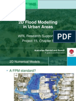 2D Flood Modelling in Urban Areas