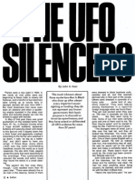THE UFO SILENCERS by John A. Keel