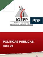 tipologia de politicas publicas