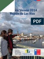 BALANCE VERANO 2014 Region de Los Rios