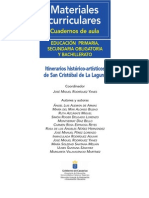Libro -Itinerarios La Laguna -Material Curricular