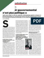 Le Vif - Paul Jorion