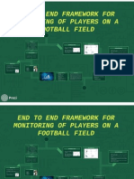 presentation of end to end framework for monitoring of football player on a field