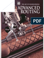 The Art of Woodworking - Advanced Routing