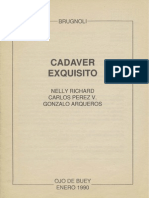 FRANCISCO BRUGNOLI - Cadaver exquísito