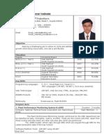 Ronak Vadiwala Resume