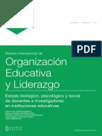 (pp. 7-19) Les14_49449_Estado biológico, psicológico y social de docentes e investigadores en instituciones educativas