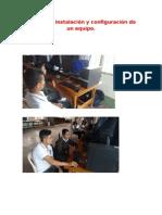 Evidencias Formateo e Instalación Del S.O