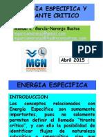 Energia Específica