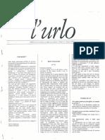 0) L'Urlo Maggio 1995