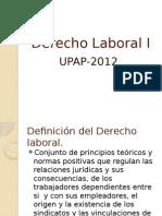 Introduccion al Derecho Laboral