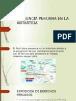 Peru en La Antartida