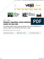 Alckmin_ Inquéritos Contra Ministros Colocam Governo No Centro Da Lava Jato