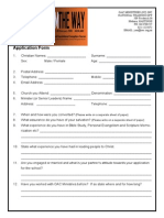 Application Form SOE 2016
