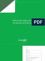 Manual de Segurança Da Família Na Internet