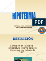 Rcp e Hipotermia- Presentación p.t.