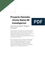 Proyecto Hannebu