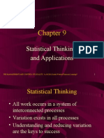 Statistical Thinking and Applications