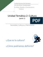 CLASE3 Cultura Parte1 2014