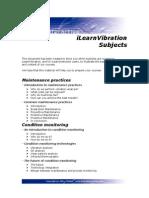 iLearnVibration Subjects