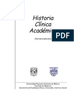 Manual Historia Clinica Academica Unam