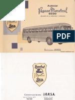 Pegaso Monotral 6030 Manual de despiece