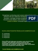 Pengelolaan Sumberdaya Alam Secara Sektoral