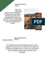 Apresentação Perfis Geológicos