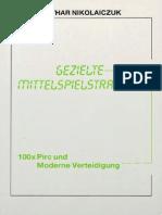 Nikolaiczuk L. - Gezielte Mittelspielstrategie (1997)