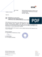 GVK Power & Infrastructure Ltd reply to clarification sought by the exchange [Company Update]