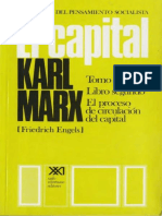 El Capital (Tomo 2-Volumen 4) de Karl Marx