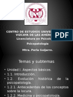 Programa Psicopatología