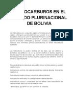 Hidrocarburos de Bolivia