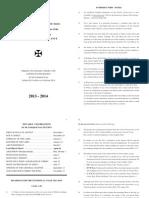 Ordo EN 2013-2014