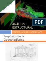 Geoestadistica - Analisis Estructural - Interpretacion Del Variograma