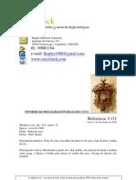 Informe de restauración I-131 reloj de cuco gigante