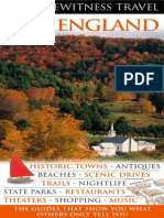 New England (Eyewitness Travel Guides)England