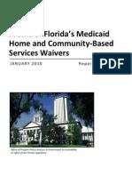 Florida HCBS Waiver Info 1010 Rpt