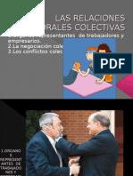 Las Relaciones Laborales Colectivas