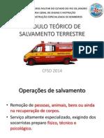 Salvamento Terrestre CFSD2014