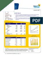 Info Memo Telkom q3 2009