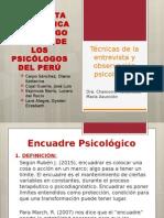 Técnicas de La Entrevista y Observación Psicológica (1)