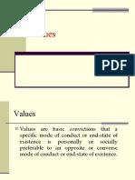 Values Final
