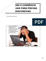 Coesão e Coerência Textuais Para Provas Discursivas
