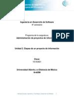 Unidad 2. Etapas de Un Proyecto de Informacion (1)
