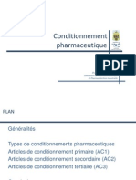 Conditionnement Pharmaceutique