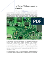 Golden Age of China PCB Instrument in the Future Decade
